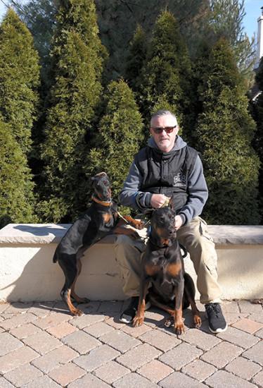 Me, Tigi and Tobias